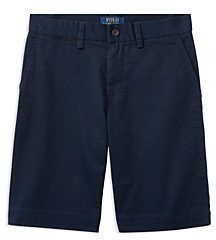Ralph Lauren Polo Boys' Vintage Chino Prospect Shorts - Little Kid