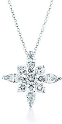 Kwiat .44ct tw Diamond Star Pendant Necklace