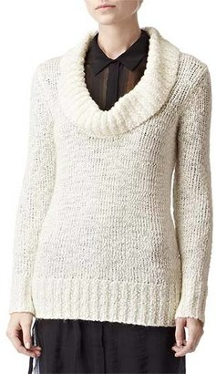 Reiss Posey COWL NECK JUMPER