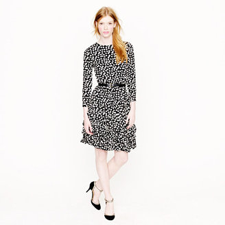 J.Crew Collection scatter dot dress