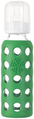 Green Baby Lifefactory Glass Bottle w/ Sleeve - Grass Green - 9 oz