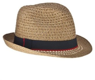 Mossimo Straw Fedora with Band - Natural