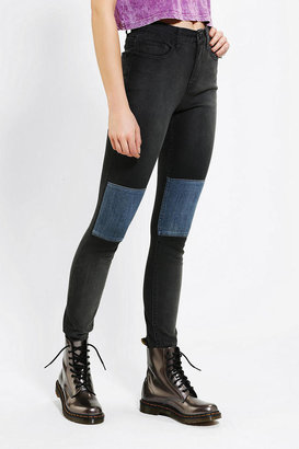 BDG Twig High-Rise Knee-Patch Jean