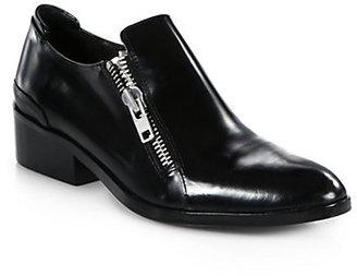 3.1 Phillip Lim Alexa Polished Leather Oxfords
