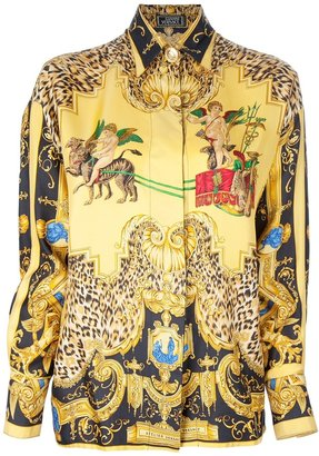 Versace Gianni Vintage Loose fitting shirt