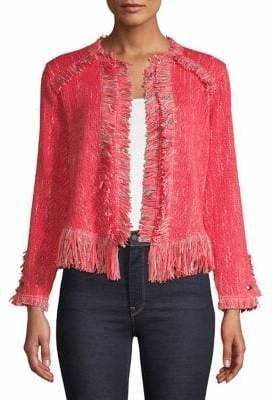 Nic+Zoe Fancy Fringe Jacket