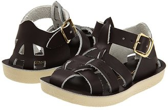 Salt Water Sandal by Hoy Shoes Sun-San - Sharks (Toddler/Little Kid) (Brown) Kid's Shoes