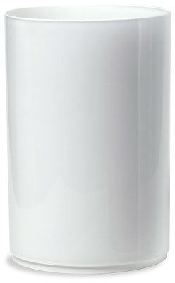 Container Store Cylinder Can White