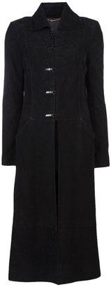 The Row Suede coat