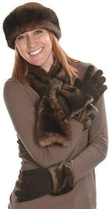 Parkhurst Faux-Fur Scarf (For Women)