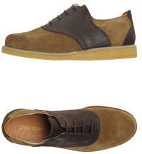 Pointer Lace-up shoes