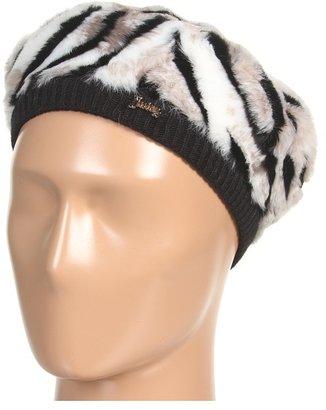 Juicy Couture Faux Fur Beret (Ziger) - Hats