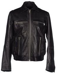 Diesel Black Gold Leather outerwear