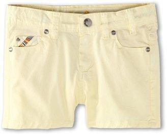 Paul Smith Dusty Short (Big Kids) (Pastel Yellow) - Apparel
