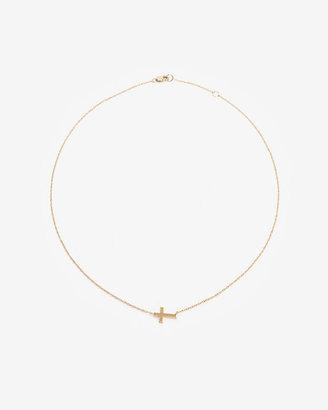 Jennifer Zeuner Jewelry Theresa Cross Pendant Necklace