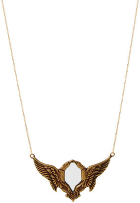 Gogo Philip Kissing Birds Mirror Pendant
