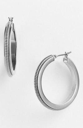 AK Anne Klein Anne Klein 'Basics' Hoop Earrings