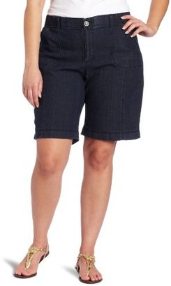 Lee Women's Plus-Size Emmie Bermuda Comfort Fit Short