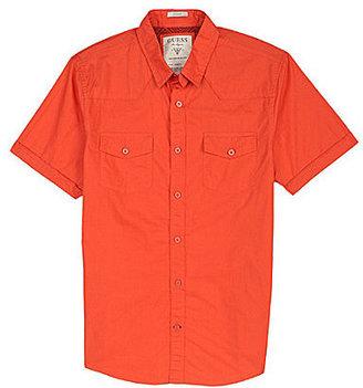 GUESS Austin Laguna Short Sleeve Solid Shirt