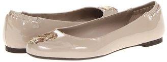 Alexander McQueen Skull Ballerina (Patent) (Peonai) - Footwear