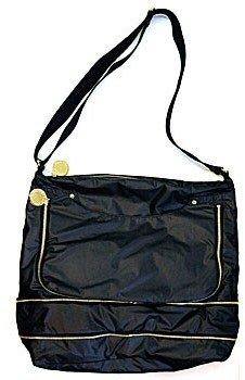 """Stella McCartney 234343"""" Black Nylon Messenger Bag"""