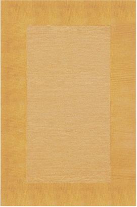 Liora Manne Area Rug, Madrid 1300/09 Border Gold 5' x 8'