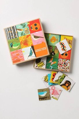 Anthropologie Charley Harper Memory Game