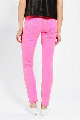 Urban Outfitters Standards & practices Neon Skinny Jean