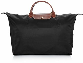 Longchamp Le Pliage Nylon Weekender $135 thestylecure.com