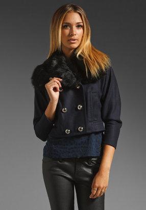 Juicy Couture Wool Mod Flight Jacket