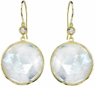 Irene Neuwirth moonstone and diamond earrings