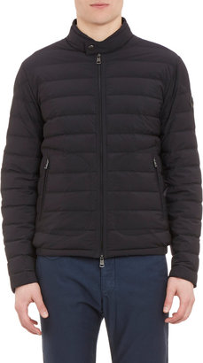 Moncler Channel-Quilted Down Jacket