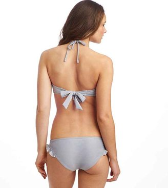 aerie Ruffle and Shine Bandeau Bikini Top