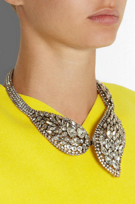 Erickson Beamon Hello Sweetie gold-plated Swarovski crystal necklace