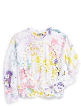 Flowers by Zoe Tie Dye Sweatshirt (Big Girls)
