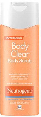 Neutrogena Body Clear Body Scrub, Salicylic Acid Acne Treatment $7.99 thestylecure.com