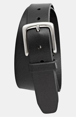 Men's Fossil 'Joe' Leather Belt $32 thestylecure.com