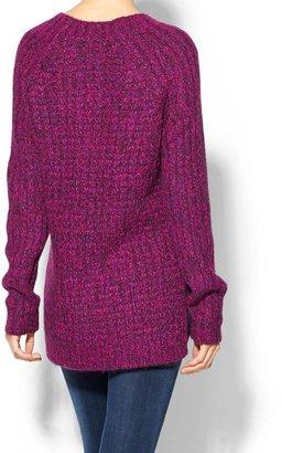Tibi Waffle Knit Sweater