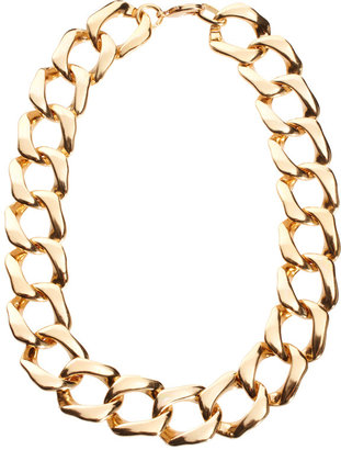 Gogo Philip Classic Linked Chain Necklace - Gold