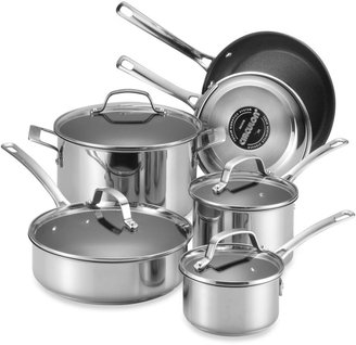 Circulon GenesisTM Stainless Steel Nonstick 10-Piece Cookware Set and Open Stock