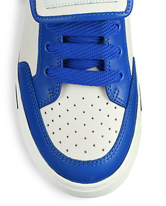 Marc by Marc Jacobs Leather Lace-Up Sneakers