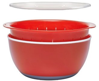OXO 3pc Medium Bowl and Colander Set
