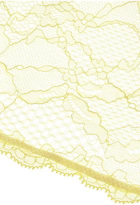Mimi Holliday Fizz Gig silk-chiffon and lace briefs