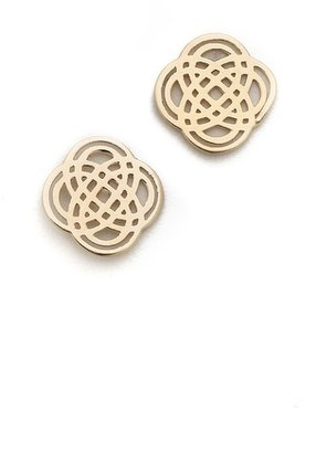 ginette_ny Infinity Stud Earrings