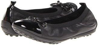 Geox Kids Jr Pima 22 (Little Kid) (Black) Girls Shoes