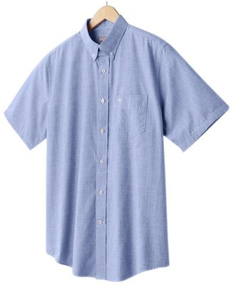 Dockers classic-fit solid casual button-down shirt