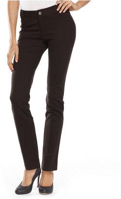 INC International Concepts Petite Pants, Curvy-Fit Skinny Five-Pocket
