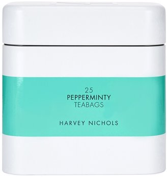 Harvey Nichols Pepperminty Teabags X 25 - Large Tin