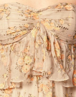 Asos SALON Glitter Long And Short Dress