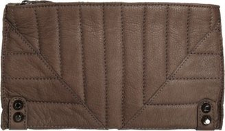 Linea Pelle Alex Quilted Clutch